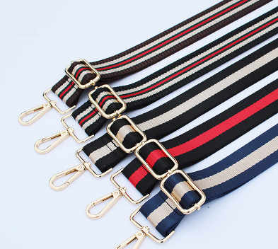 HJKL Colored Belt Bags gift Accessories for Women Rainbow Adjustable strap Shoulder Hanger Handbag Straps Decorative Handle gift