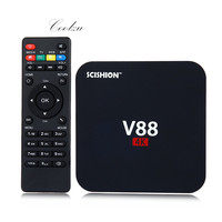 V88 Android TV Box RK3229 Quad Core CPU 1G 8G 4K Movies WIFI 3D Movie Smart