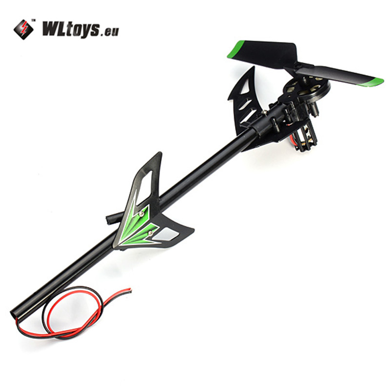 WLtoys V912 Brush RC Helicopter Spare Parts Tail Motor Set for RC Models High Quality Accessories Accs original xlpower 520 rc helicopter spare parts canopy green replacement accessories accs for rc helicopter toy models