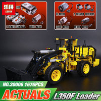 LEPIN 20006 technic series The L350F wheel loader Model Building Kit Blocks Bricks Educational Kids Toys Compatible with 42030