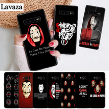 Lavaza La Casa De Papel Money Heist Silicone Case for Samsung S6 Edge S7 S8 Plus S9 S10 S10e Note 8 9 M10 M20 M30