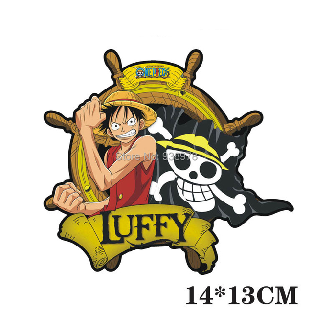 Pcs New Car Cartoon Sticker One Piece LUFFY Car Motorcycle - Window stickers for home singapore