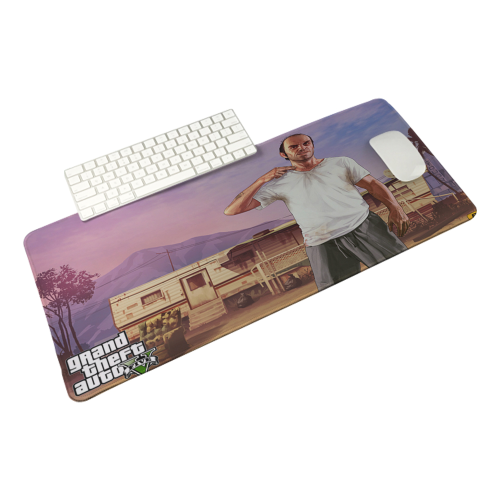 Gta V Wallpaper 22 Personalized Cool Fashion Pad 400X900X2MM Silon Mouse Mat