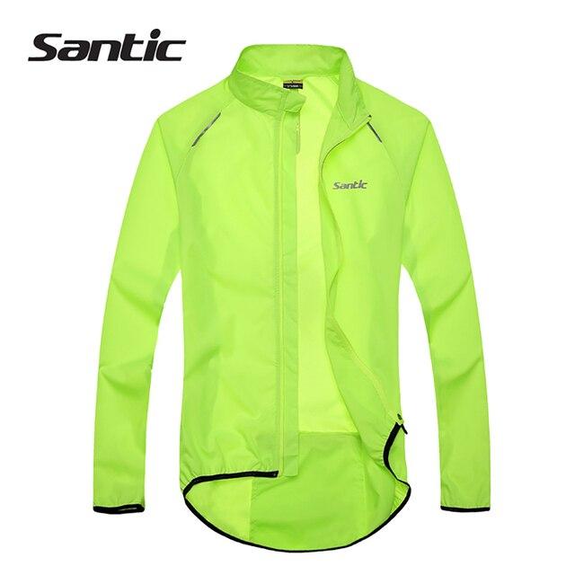 Santic Men Cycling Jacket UPF30  MTB Bicycle Bike Rain Jacket ...