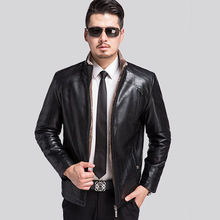 Brand Mens Leather Jackets High Quality Motorcycle Leather Jackets Men Aqueta Couro Bomber Chaqueta Cuero Hombre