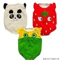 Sale cotton cartoon animal style romper  baby triangle climbing clothes FREE SHIPPING