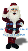 New Style Saint Nicholas Mascot Costume Hot Sale Mascotte Outfit Suit Fancy Dress for Chiristmas Holiday Party Carnival SW631