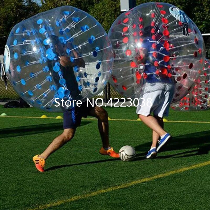 Free Shipping 1.5m Human Bubble Soccer Ball Loopyball Toys For Outdoor Sports Hamster Ball Stress Ball Bubble Football Suit - 5