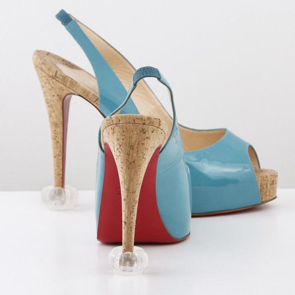 10 Pair Newest High Heel Protectors High Heeler Stiletto Shoe Heel Saver Antislip Silicone Heel Stopper for Bridal Wedding Party