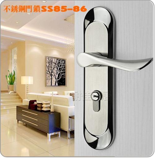 Security Door Lock Stainless Steel 304 Handle Privacy Keyless Safe S Room Modern
