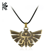 Necklace Triforce The-Legend Pendant-Rope Vintage Cosplay 3d-Game New-Product of High-Quality