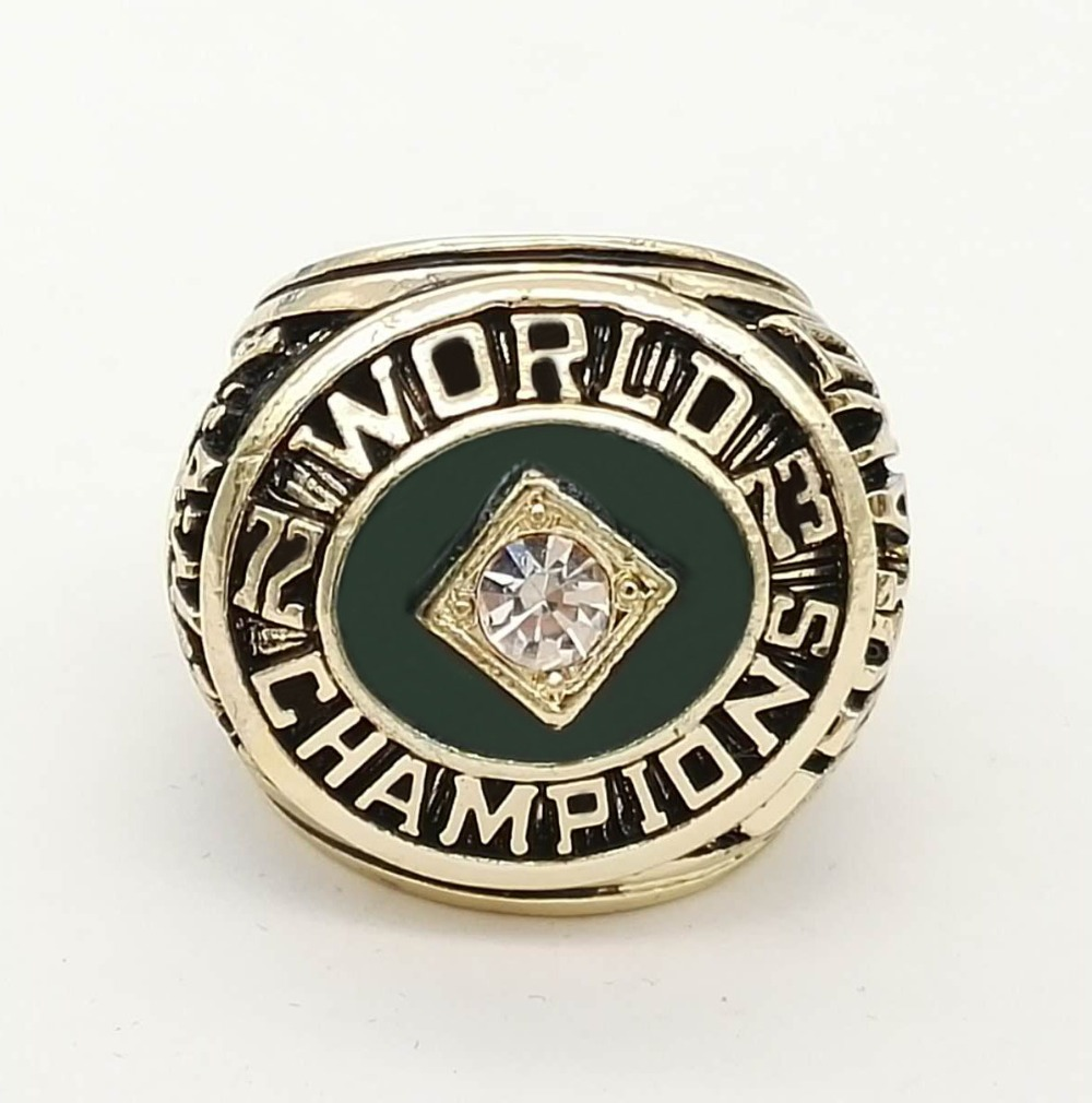 Drop Shipping Good Quality 1973 Oakland Athletics A s Major League Baseball Championship Rings Replica Jewelry