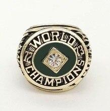 Envío de la gota de la Buena Calidad 1973 del Atletismo de Oakland A's Major League Baseball Joyería Anillos de Campeón de Réplica