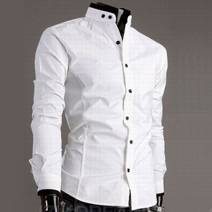 Free shipping Version features collar best brand shirts for men ...