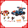 LEPIN 14022 Nexo Knights Axl Axls Tower Carrier 704Pcs Building Block Educational Construction Assemble Toys For