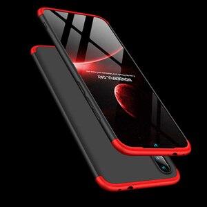 Image 3 - Voor Xiao mi rode Mi note 7 Mi Note7 case 360 Volledige Bescherming shockproof Telefoon 3in1 Cover Case