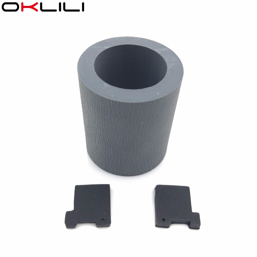 1X PA03586-0001 PA03586-0002 Pick Roller Pad Assy Assembly Pickup Roller Separation Pad for Fujitsu S1500 S1500M fi-6110 N1800 high quality pickup roller and separation pad compatible for hp5000 5100