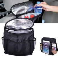 Car Seat Back Multi Pocket Insulation Storage Bag Travel Organizer Holder Auto Rear Accessories Hanger Tidy