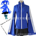 Kagerou Project Heat Haze Ene Takane Enomoto Cosplay Costume Blue Sweater Black Skirt Sports Clothing Halloween Costumes B-3886