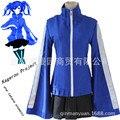 Kagerou projeto Enomoto Takane Ene Névoa de Calor Esportes Saia Roupas Trajes de Halloween Cosplay Traje Azul Suéter Preto B-3886