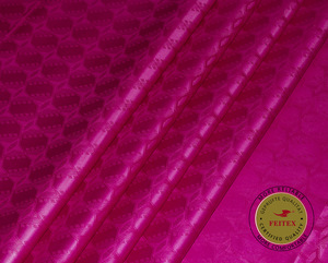 Image 1 - Shining Austria Quality Bazin Riche Fabric(Similar to getzner) Jacquard Guinea Brocade Fabric 100% Cotton Shadda Perfume