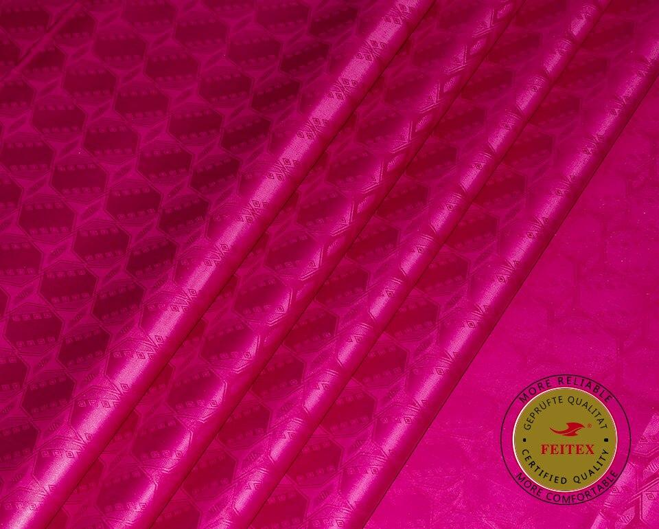 Shining Austria jakości Bazin Riche tkaniny (podobne do getzner) żakardowe gwinejska tkanina brokatowa 100% bawełna Shadda perfum w Materiał od Dom i ogród na  Grupa 1
