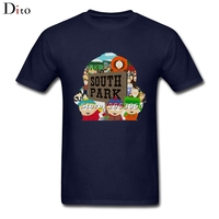 South Park Stan Marsh Kenny T-shirt Men Male Cool White Short Sleeve Custom Big Size Couple Tshirts