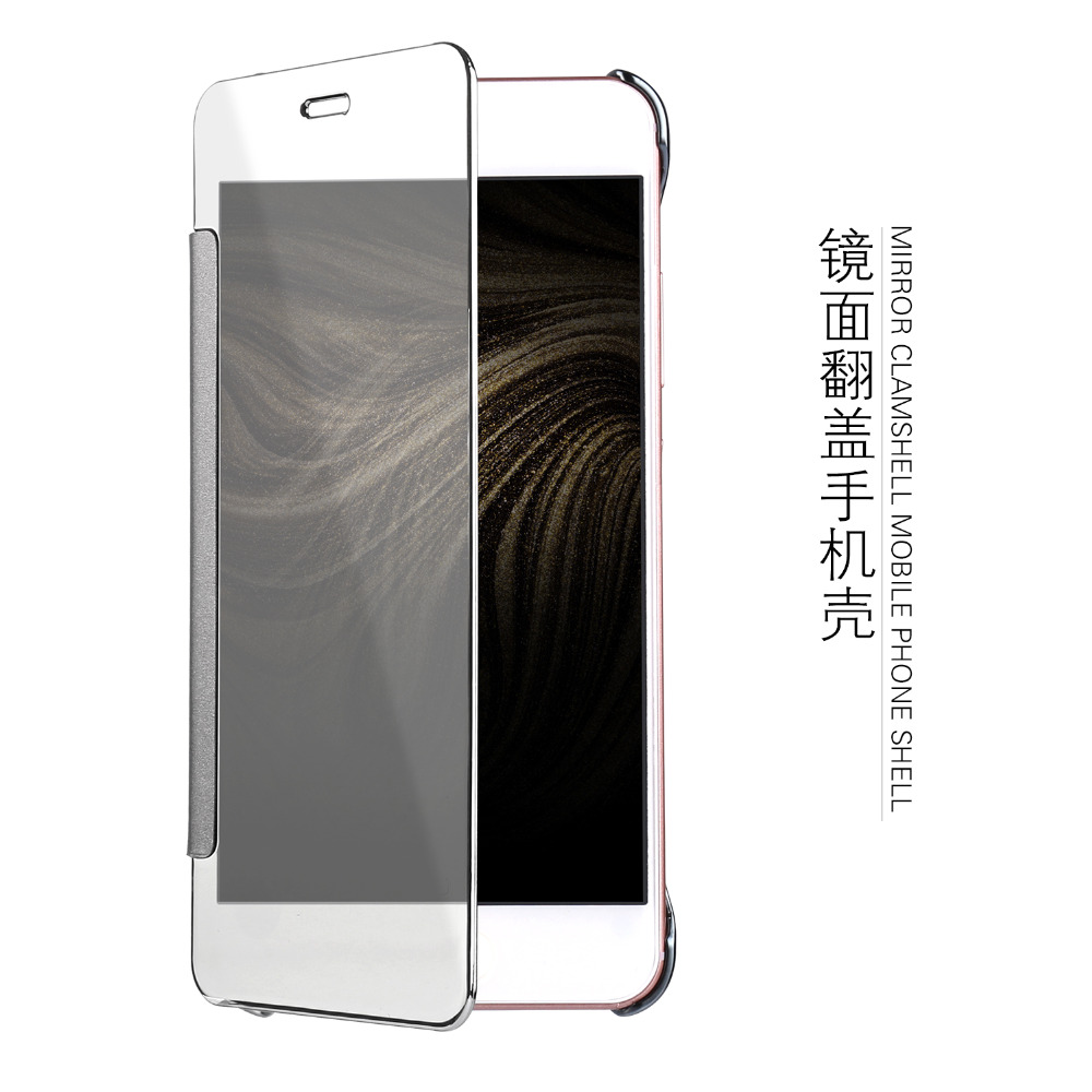 Красивая девушка счастливой жизни для Huawei Honor 7 lite чехол смарт проснуться чехол для Honor 7 lite зеркало filp Дело Капа Fundas Coque