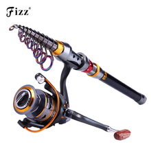99% Carbon Portable Telescopic Fishing Rod Exclusive Spinning Sea Fishing Rod Pole 1.8/2.1/2.4/2.7/3.0/3.6M Men's Christmas Gift