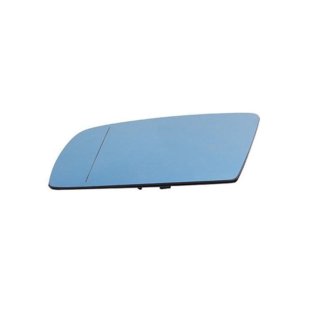 Passenger Side Mirror Glass BMW E60 E63 E64 525i 530i 535i Heated//Blue W//Holder