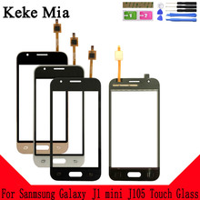 купить Keke Mia 4.0 New Touch Screen For Samsung Galaxy J1 mini J105 J105H J105F J105B J105M SM-J105F Digitizer Glass Panel дешево