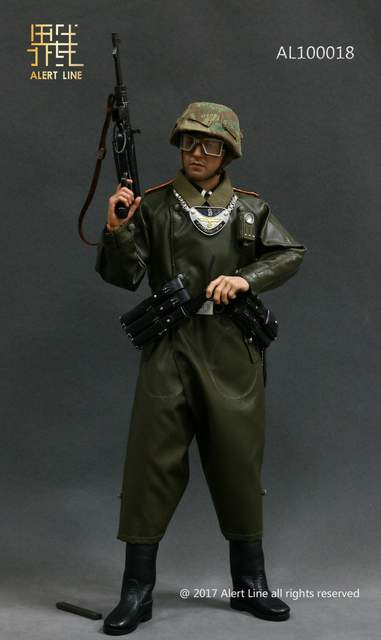 US $99 99  Alert Line AL100018 WWII German Grossdeutschland Division(GD)  Military Police Equipment Set 1/6-in Action & Toy Figures from Toys &  Hobbies