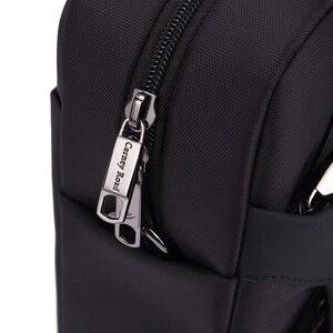 Image 4 - 2019 ニュートップ品質クラシックビジネスブリーフ男性オックスフォード防水 15 インチのラップトップバッグ多機能ハンドバッグショルダーバッグ