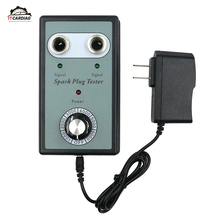 Автомобильный тестер свечей зажигания тестеры зажигания автомобильный диагностический инструмент анализатор с двойным отверстием для бензиновые автомобили 12 В