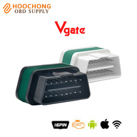 2017 Originele Vgate WiFi iCar 2 OBDII ELM327 iCar2 wifi vgate OBD 2 ELM 327 diagnose-interface voor IOS iPhone iPad Android