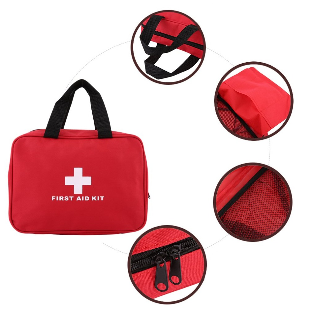 First Aid Kit Bag Outdoor Home Medical Emergency Kit Survival Empty Bag Multifunctional Medical Hand Bag For Camping Travel