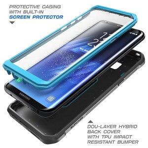 Image 3 - SUPCASE для Samsung Galaxy S8 Plus Чехол со встроенной защитной пленкой для экрана UB Pro прочная кобура для всего тела для Galaxy S8 +