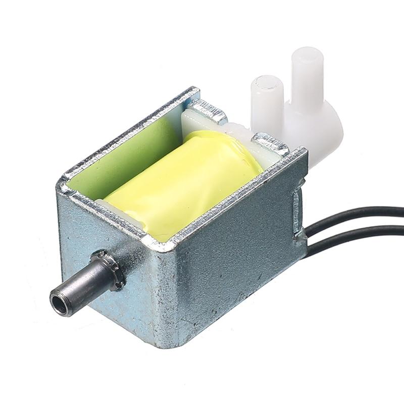 2-позиционный Трехходовой Электрический мини-микро Соленоидный клапан, воздушный газ, выхлоп, соленоидный выпускной клапан постоянного ток...