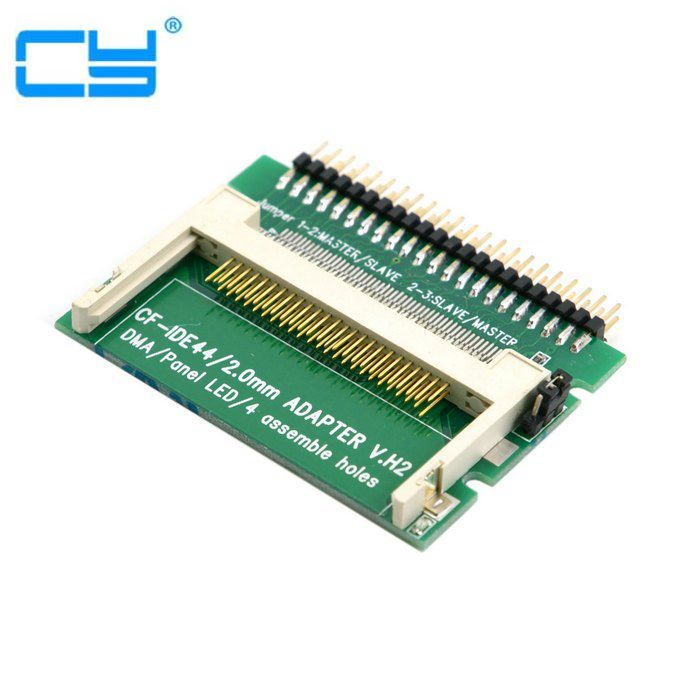 CF Compact Flash Merory Card To Laptop 2.5