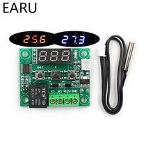 W1209 LED Thermostat numérique contrôle de température thermomètre Thermo contrôleur commutateur Module DC 12V étanche NTC capteur