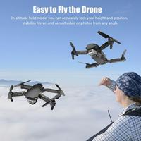 Folding Remote Drone Aerial Photography RC Helicopter Four axis Aircraft WiFi Transmission