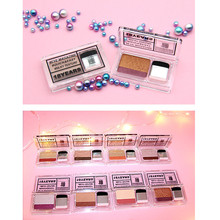 2019 Brand New metal glitter Two-color Stamp Eyeshadow Fashion Make-up Eye Shadow Flexibility Lasting Soft Sequins Gorgeous F5.9