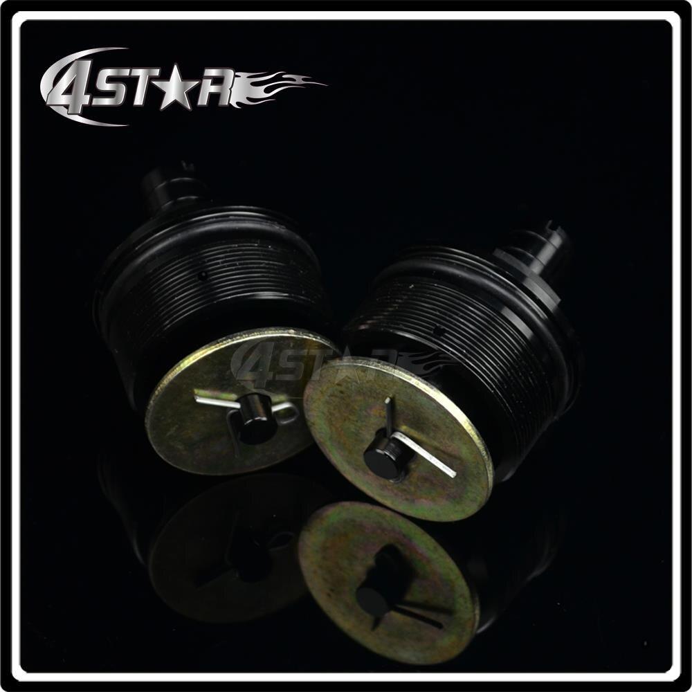 <font><b>Fork</b></font> End Cap Screw Bolt Tube Plugs For NSR250 CB400 VTEC CB-1 CBR400 For Motorcycle ATV Racing Street Bike