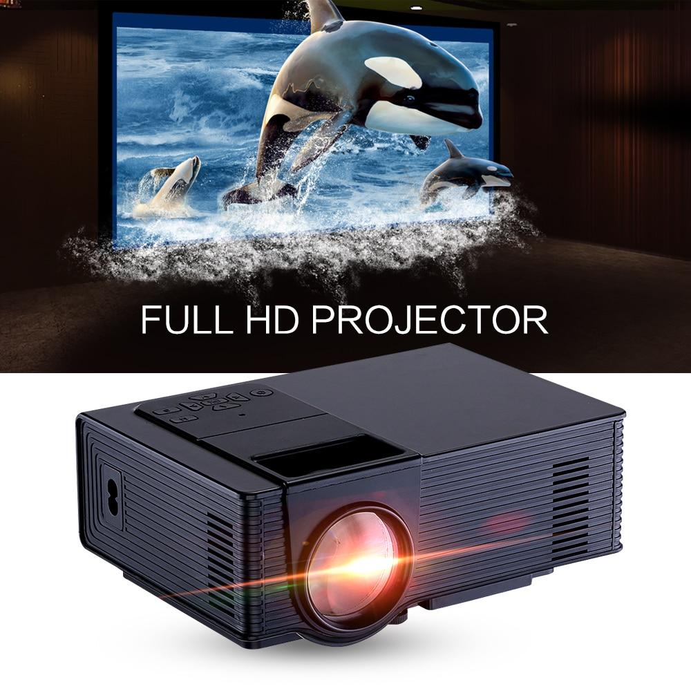 Free Shipping 2016 Bl35 Projector Full Hd Tv Home Cinema: Zeepin VS314 Portable Mini LED Projector 1500 Lumens 800 X