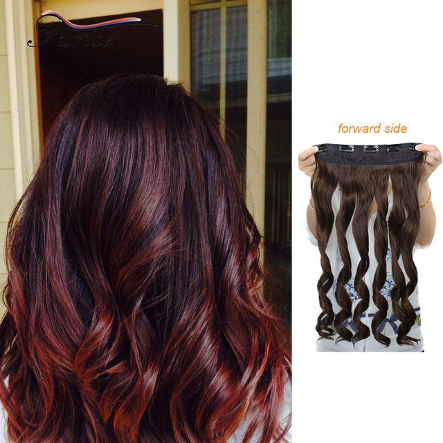Clip In Hair Extensions For Short Hair 255 Inch 65cm Long Full Head