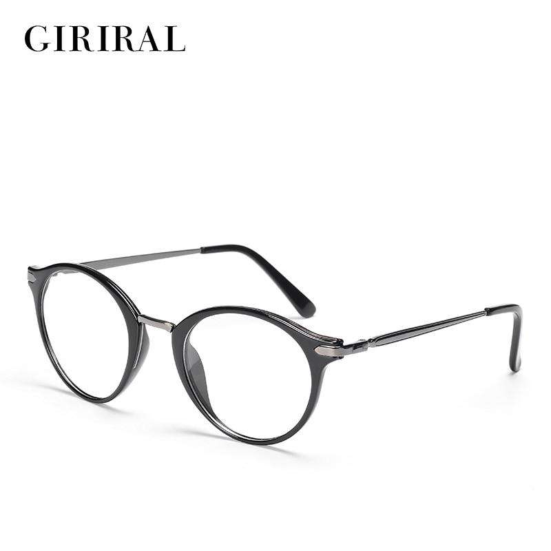 46d6a4015ea8 2018 TR90 women glasses frame round clear transparent fashion brand retro optical  designer eyewear frame