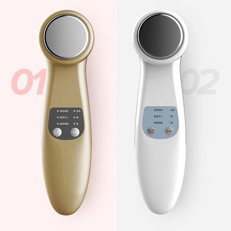 New ion Face-lifting instrumento de Limpeza Facial Limpador Beleza Instrumento cosmetologia massagem Meninas beleza Produtos de Cuidados Da Pele