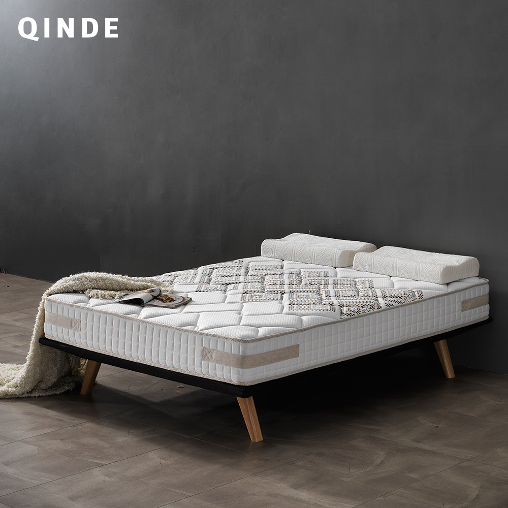 2017 Aliexpress New Arrival Apartments And Hotel Bedroom Furniture 5 Zone Pocket Spring Bed <font><b>Mattress</b></font> Cheap Price <font><b>For</b></font> Sale Q-06