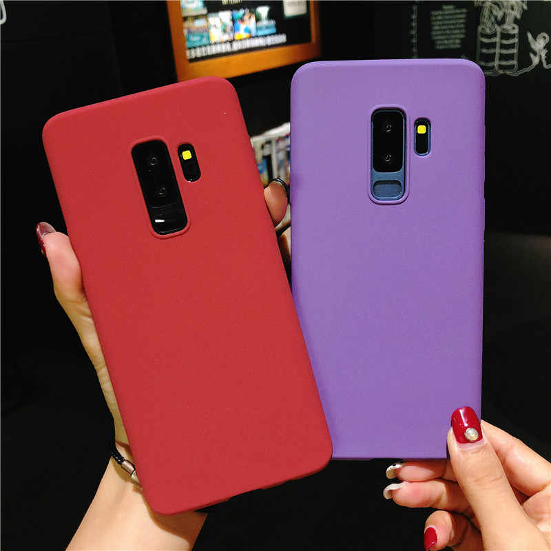 Sand Frosted Silicone Case for OPPO R7 R7S R9 R9S R11 Cover TPU Phone Cases A31 A33 A37 A39 A53 A57 A59 A77 A79 A83 A3 A5 A7 K1
