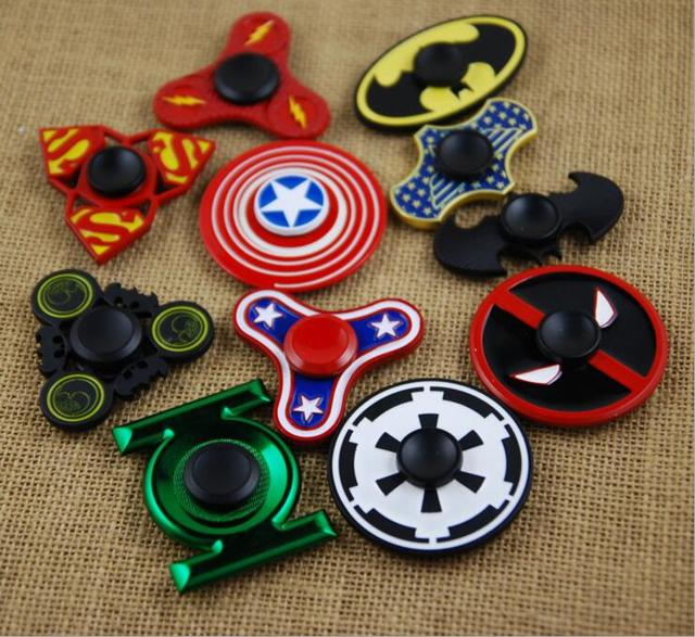 Fid Spinner New Model Designs Professional Cartoon Hero Spider